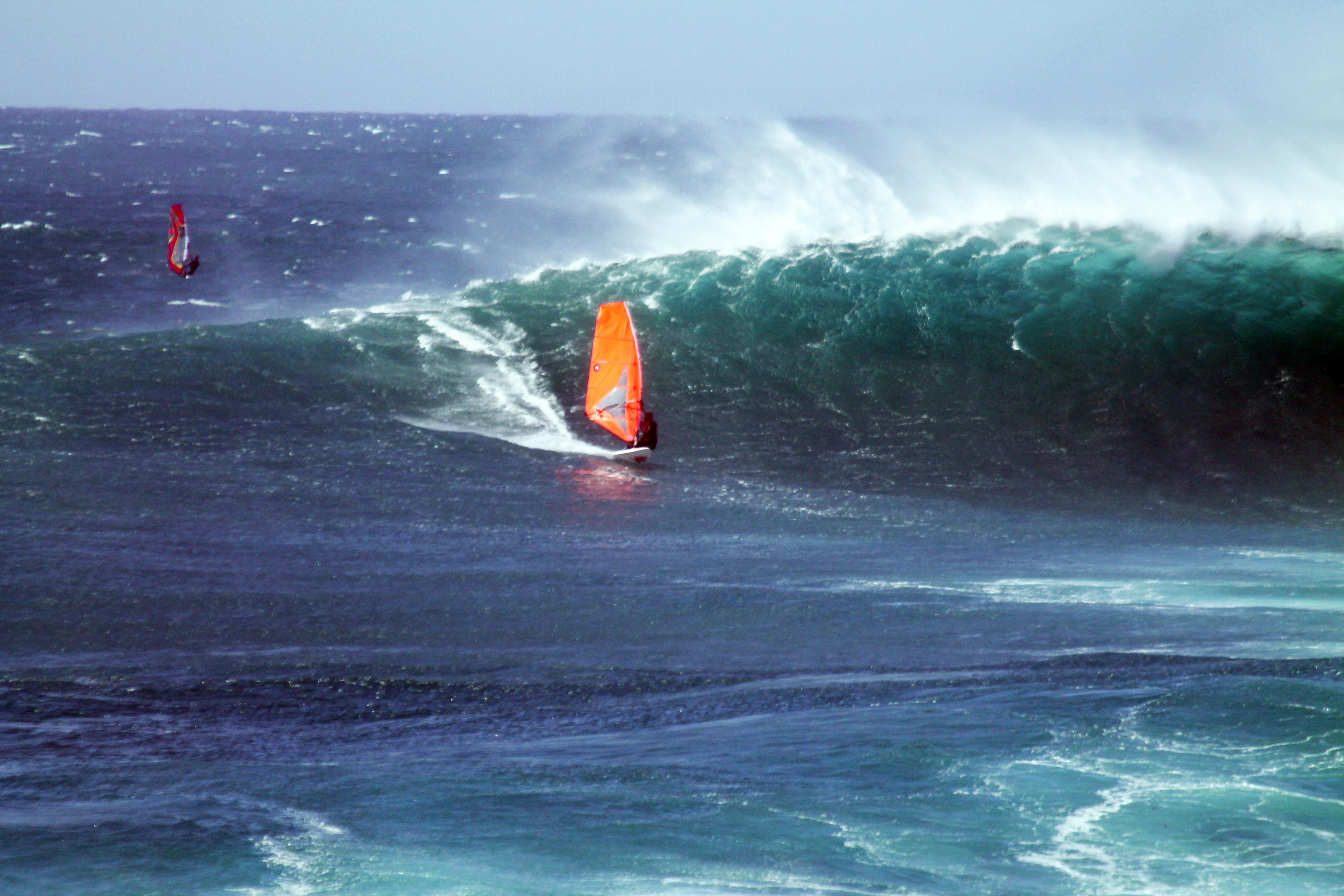Christopher Bünger mit Südkap Surfing Sylt in Cotillo auf Fuerteventura