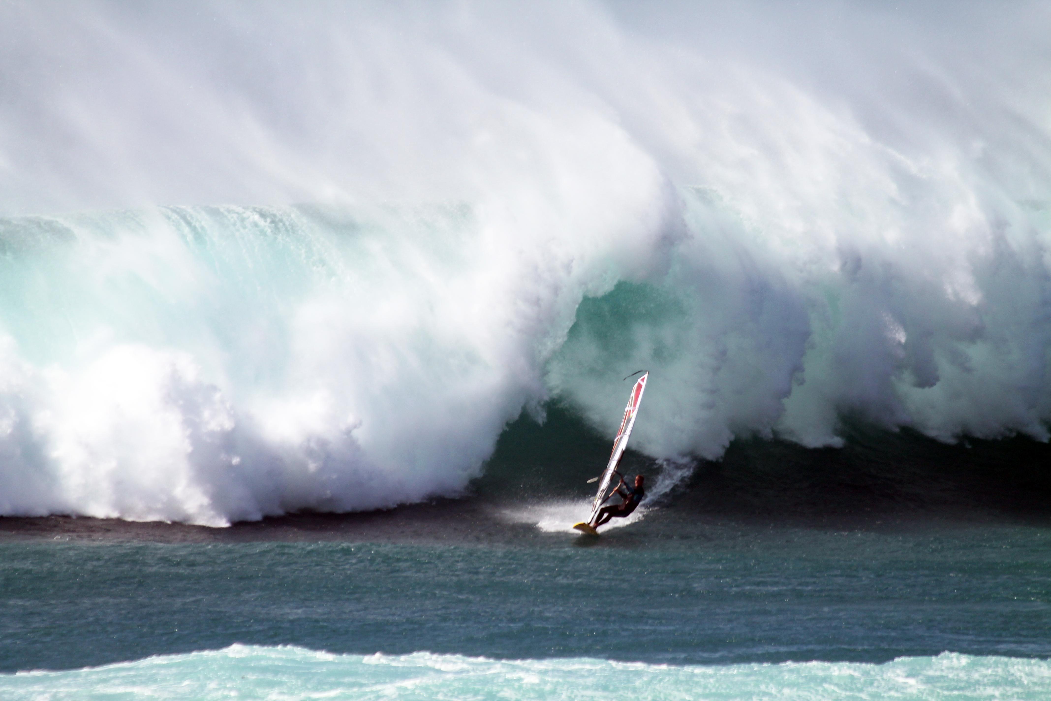 Stephan Etienne mit Südkap Surfing Sylt in Cotillo auf Fuerteventura