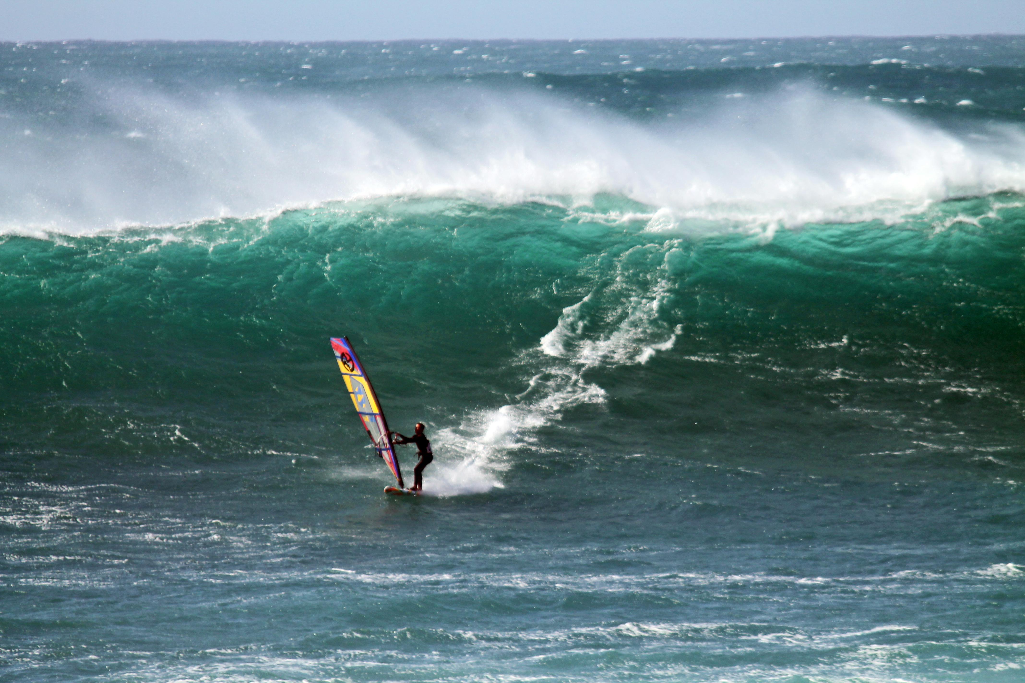 Yannik Anton mit Südkap Surfing in Cotillo auf Fuerteventura