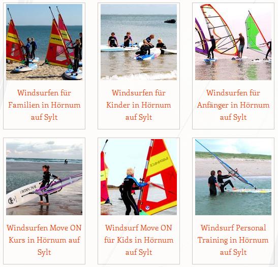 Windsurf-Angebot Sylt