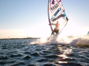 Hörnumer Windsurfer
