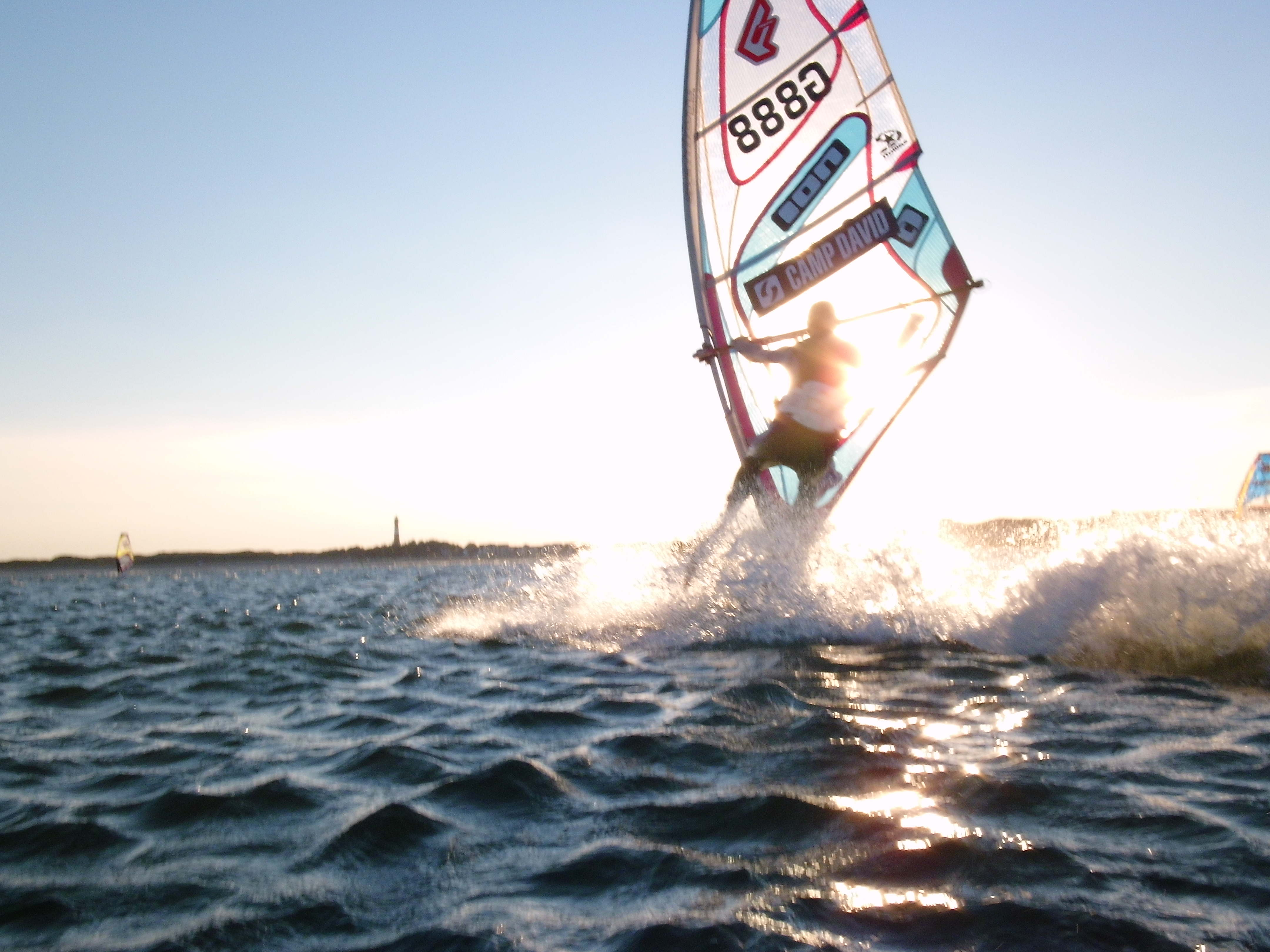 Möwennest Windsurfen