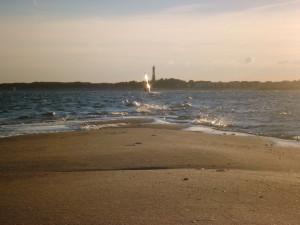 Windsurfer vor Hörnum