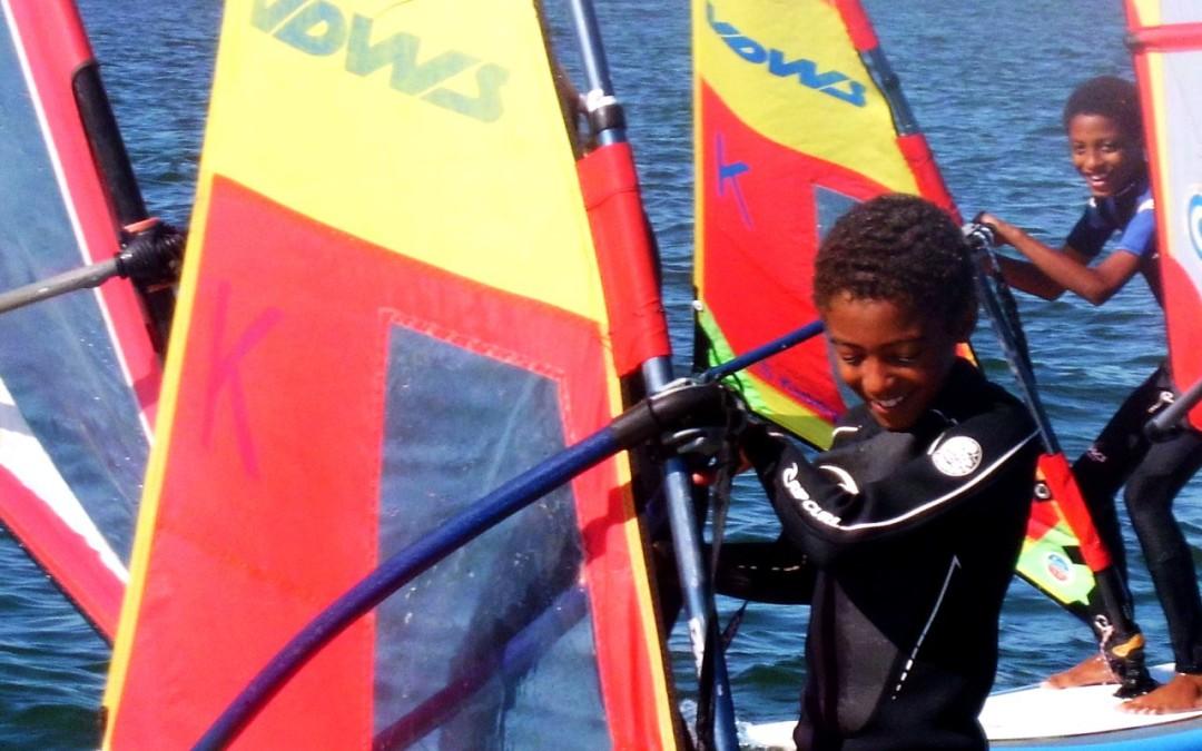 Windsurfen für Sylt-Kids