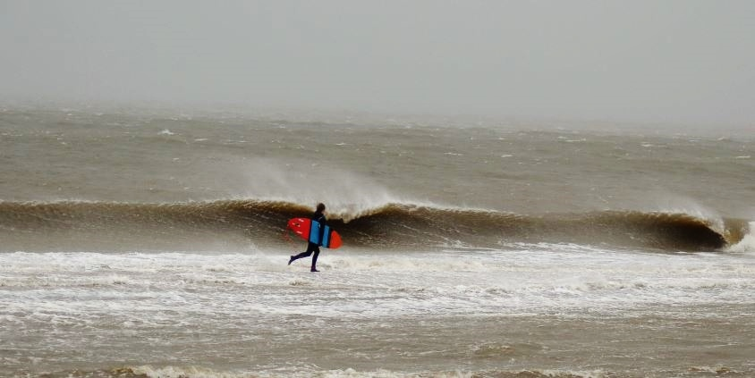 Orkan Xaver auf Sylt