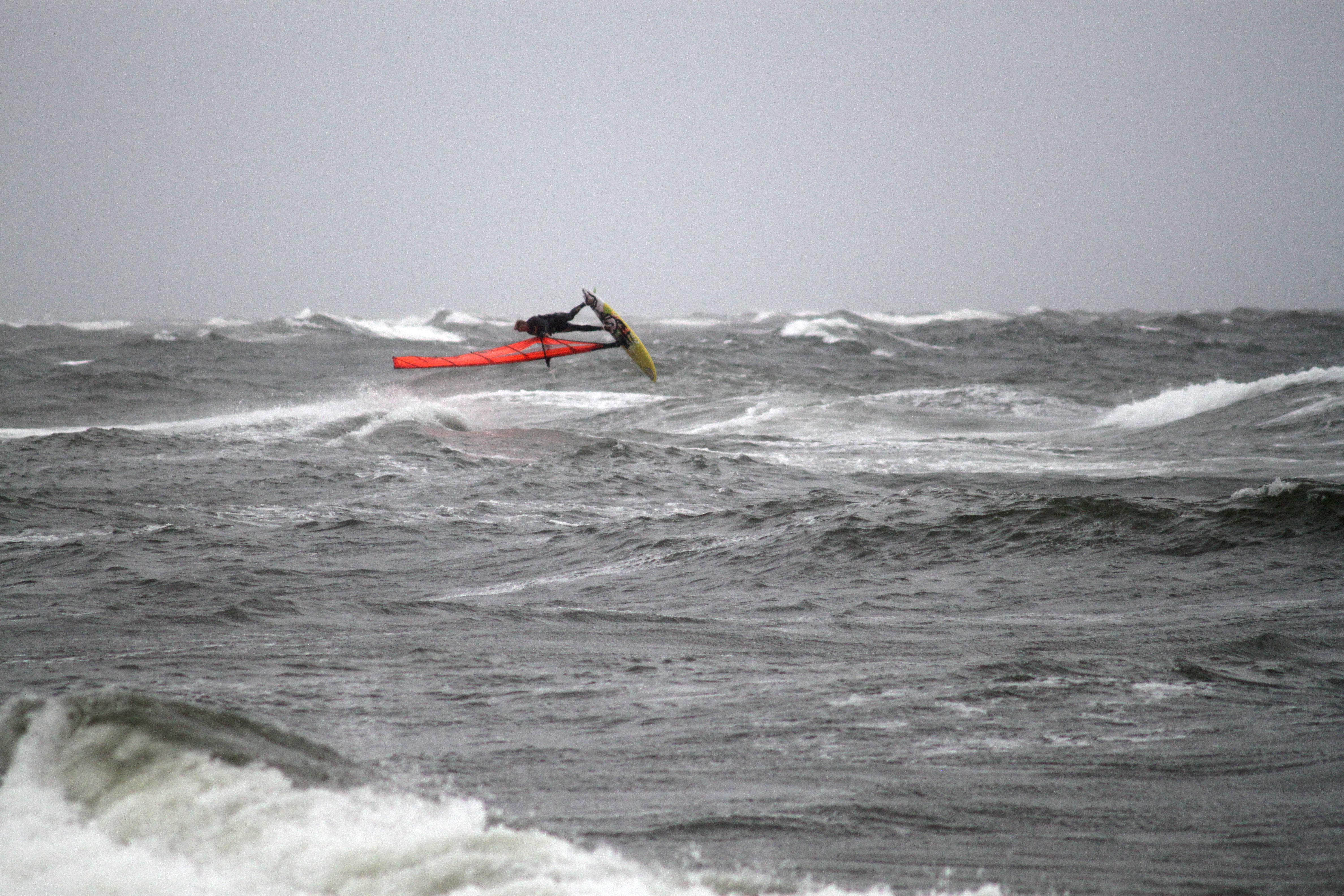 Windsurfen Nordsee