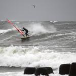 Wellen surfen Hörnum