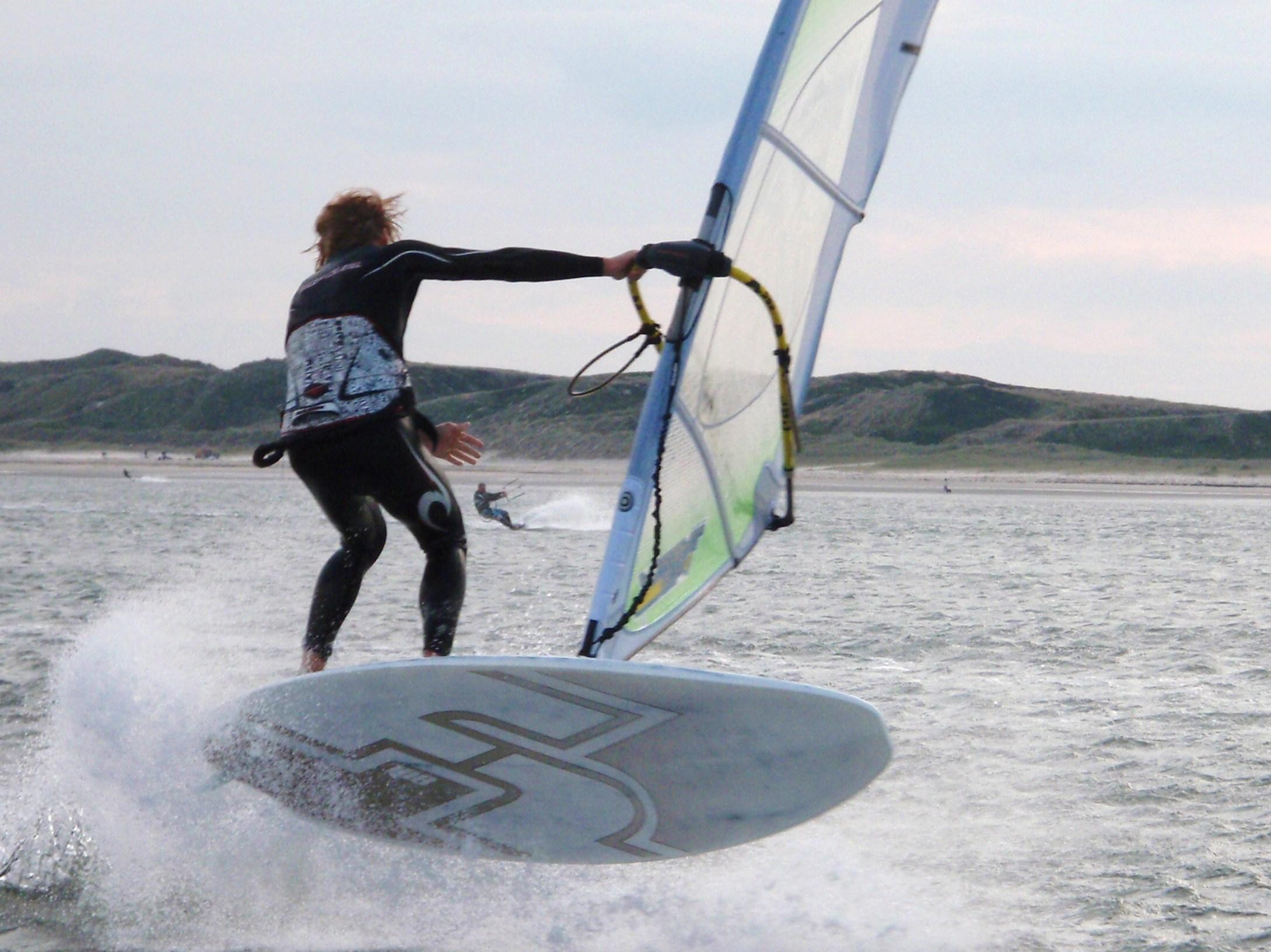 Windsurfen am Möwennest