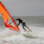 Windsurfen am Zeltplatz