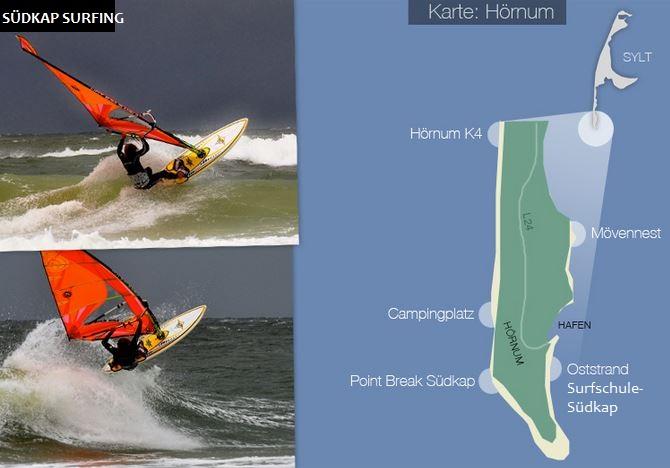 Sylt Surf Report Süden