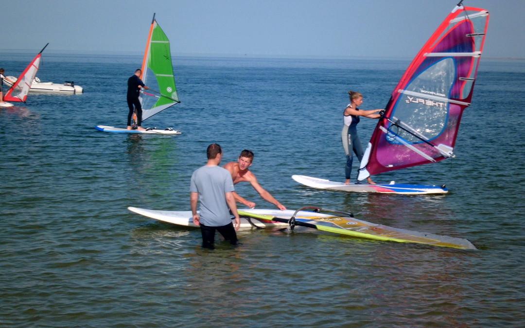 Sylt Windsurfen lernen