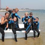 Sylter Nachwuchs bei Südkap Surfing
