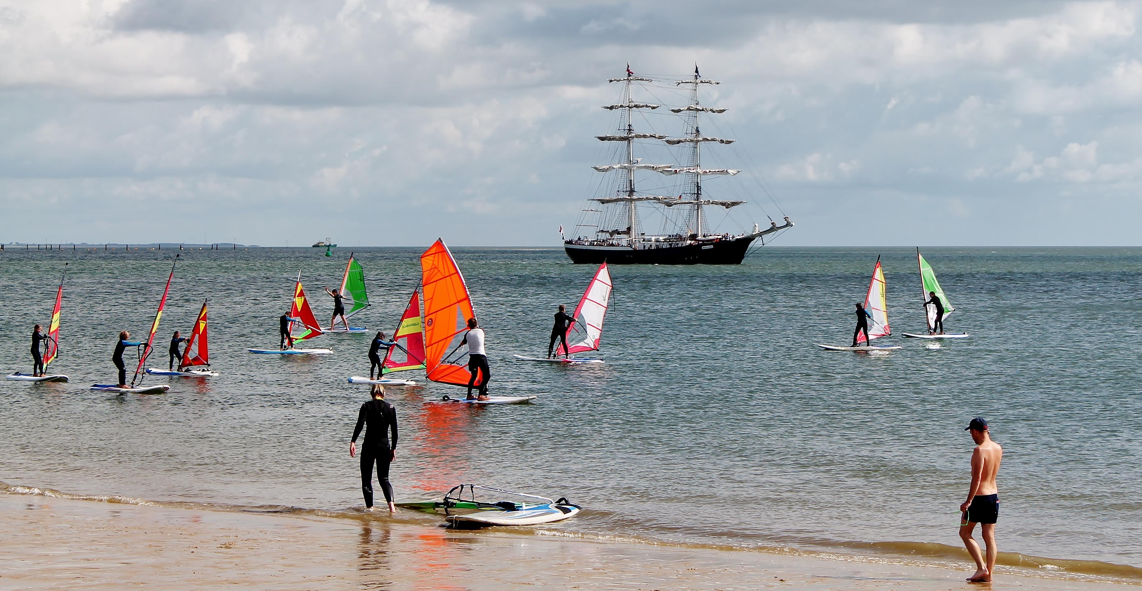 Sylt Windsurfen lernen | Windsurfkurs an der Nordsee