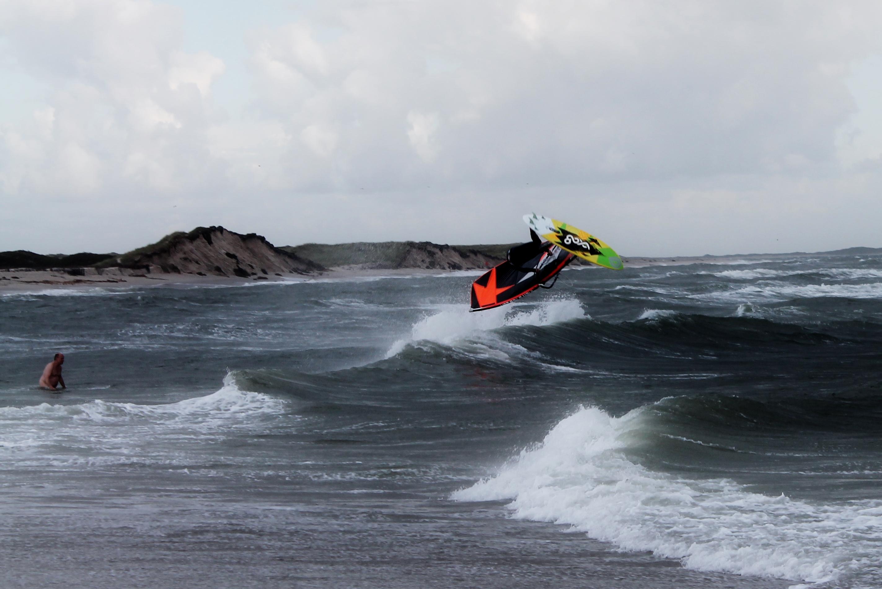 Windsurfen an der Odde