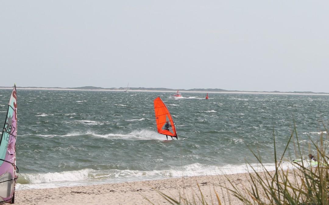 Wassersport bei Ostwind auf Sylt