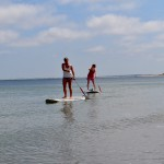 Stand up Paddling auf Sylt an der Nordsee