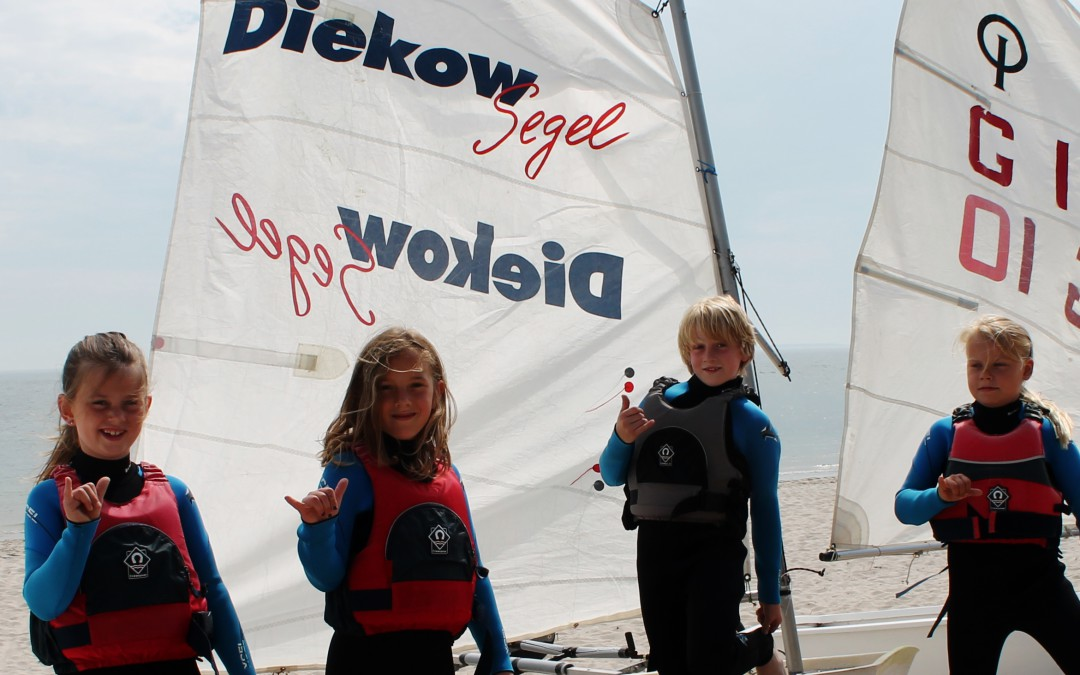Segeln lernen an der Nordsee vor Sylt