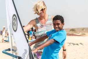 windsurfen lernen sylt mit christoper Bünger