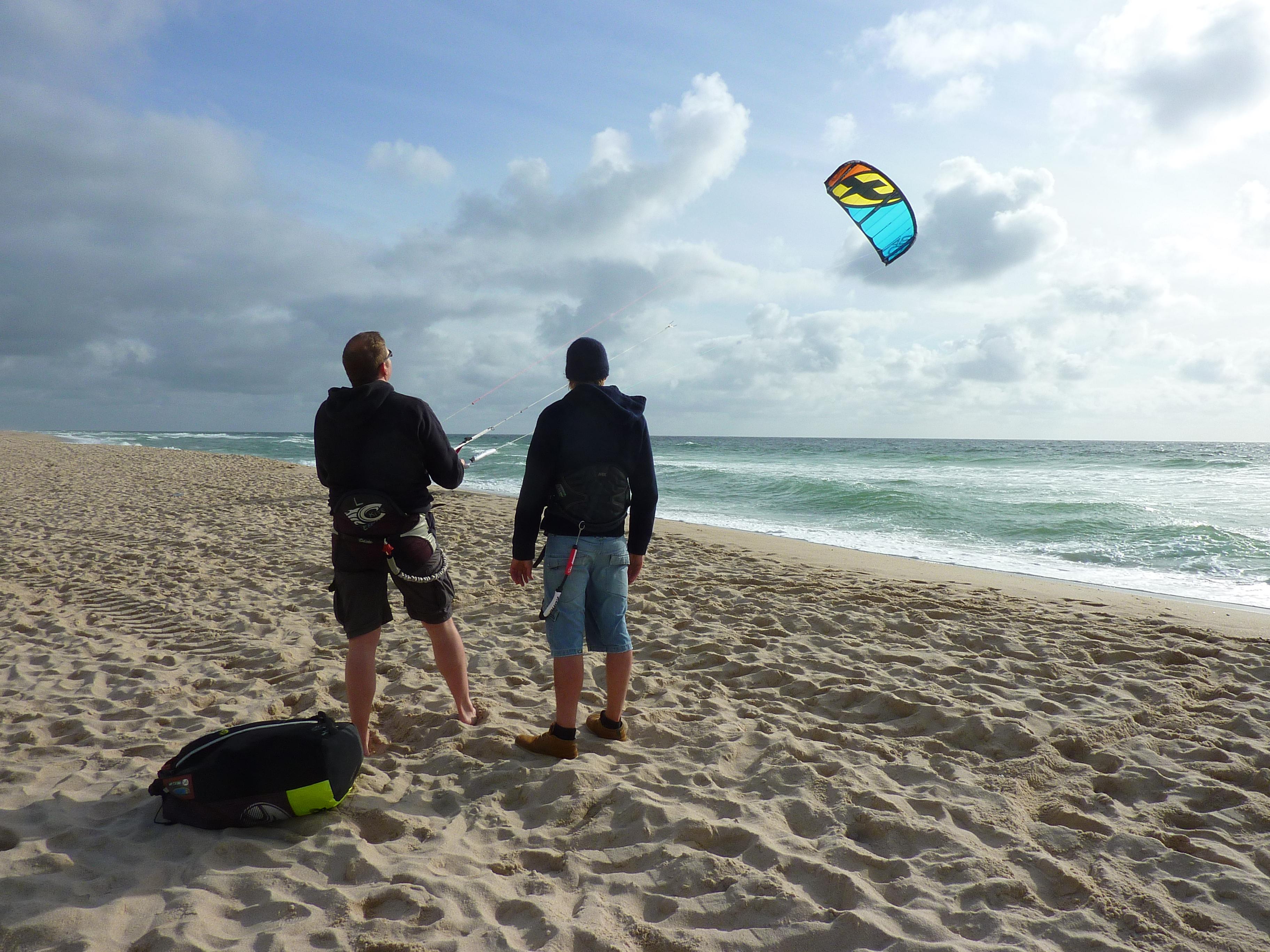 Kitesurfkurs in Wenningstedt-Braderup | Kiteschule Wenningstedt auf Sylt Kiten lernen