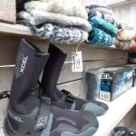 Alles was der Surfer braucht... warme Füße!