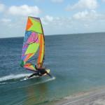 Windsurfen am Oststrand Hörnum Sylt