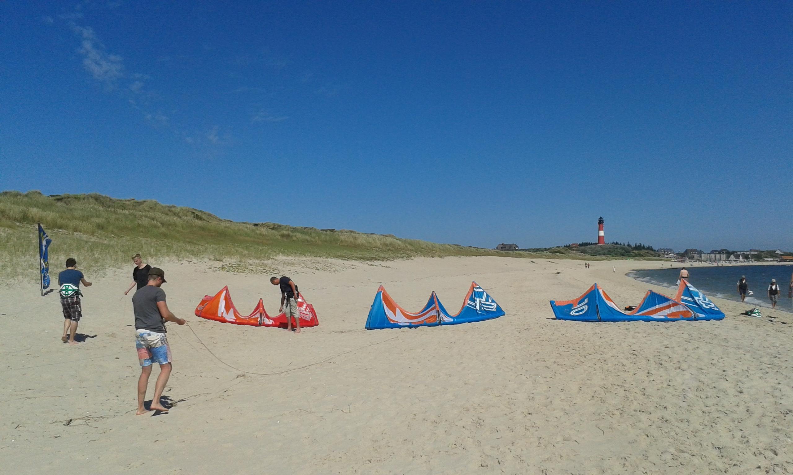 Kitesurfen Sylt in Hörnum