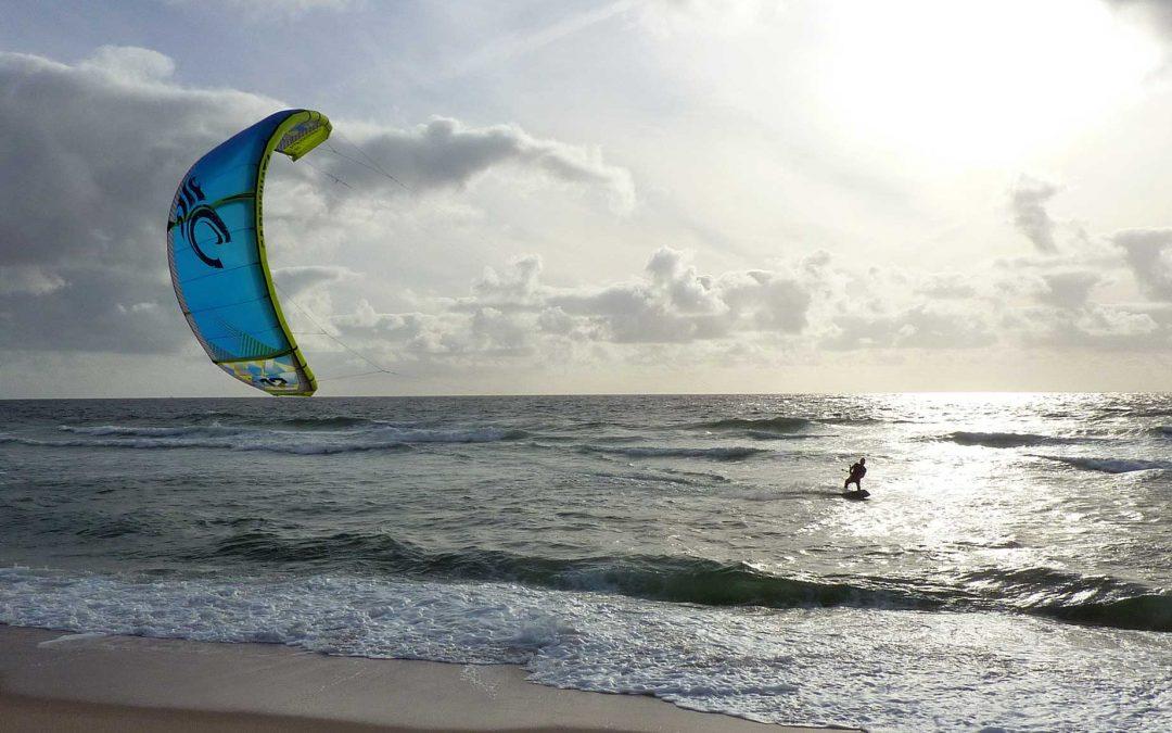 Kitesurfen auf Sylt | Nordsee