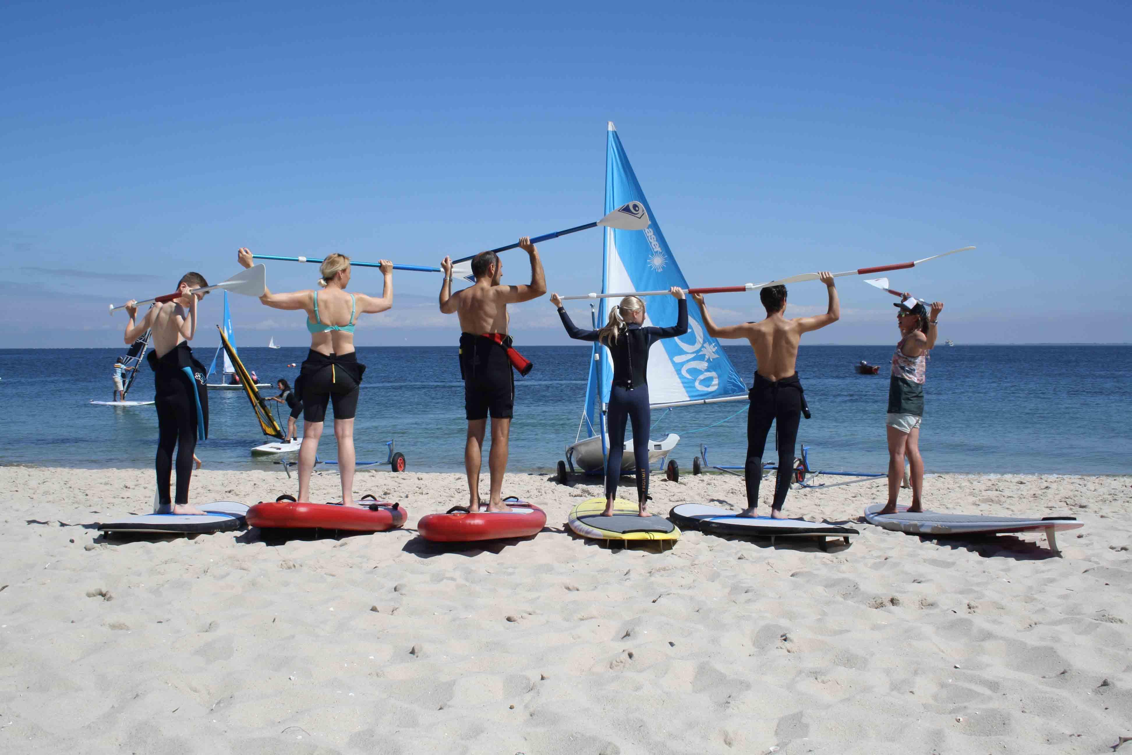 SUP Surfschule Sylt