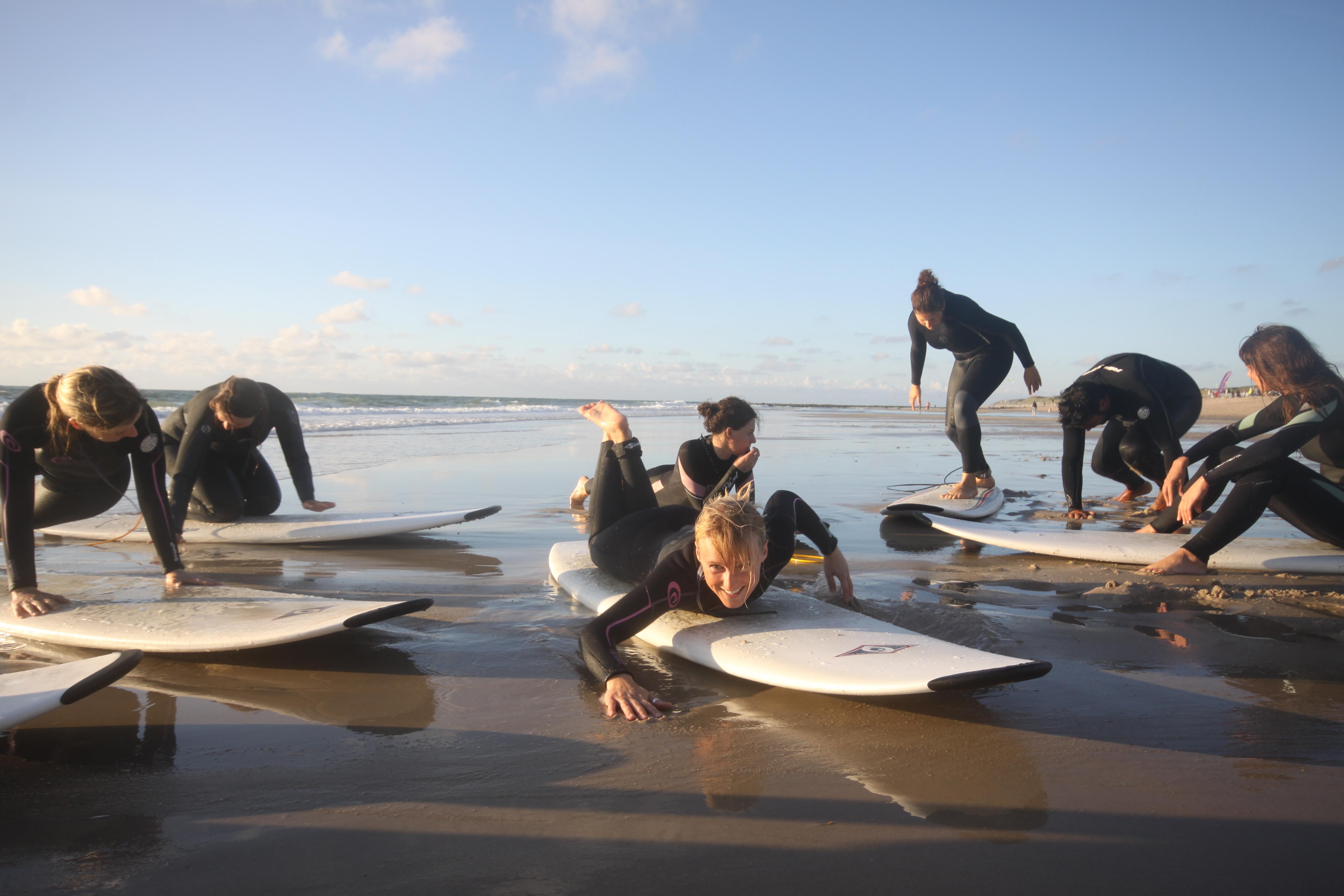 Surfcamp Sylt Wellenreitcamp Deutschland