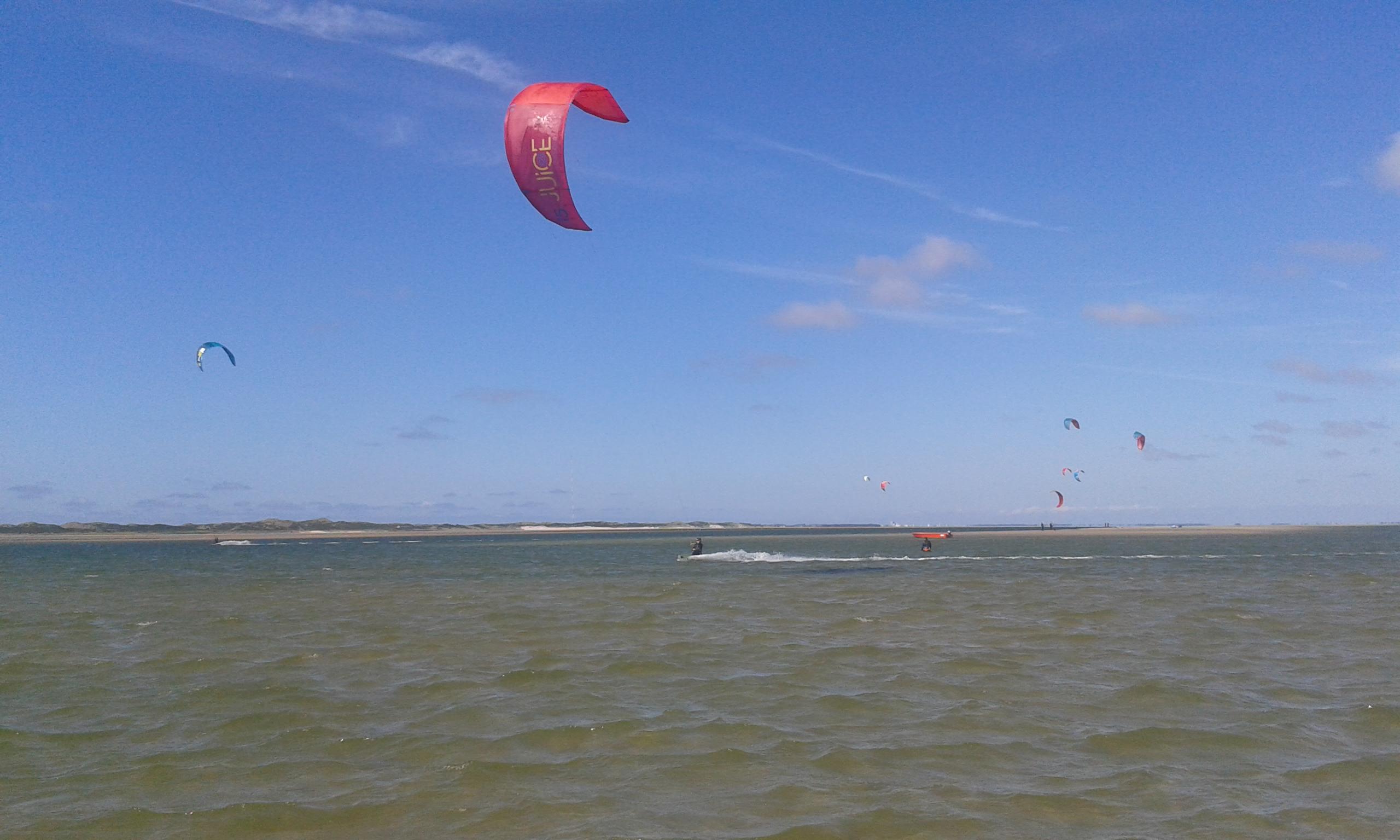 Kiteschule Sylt | Kitespot Möwennest Hoernum
