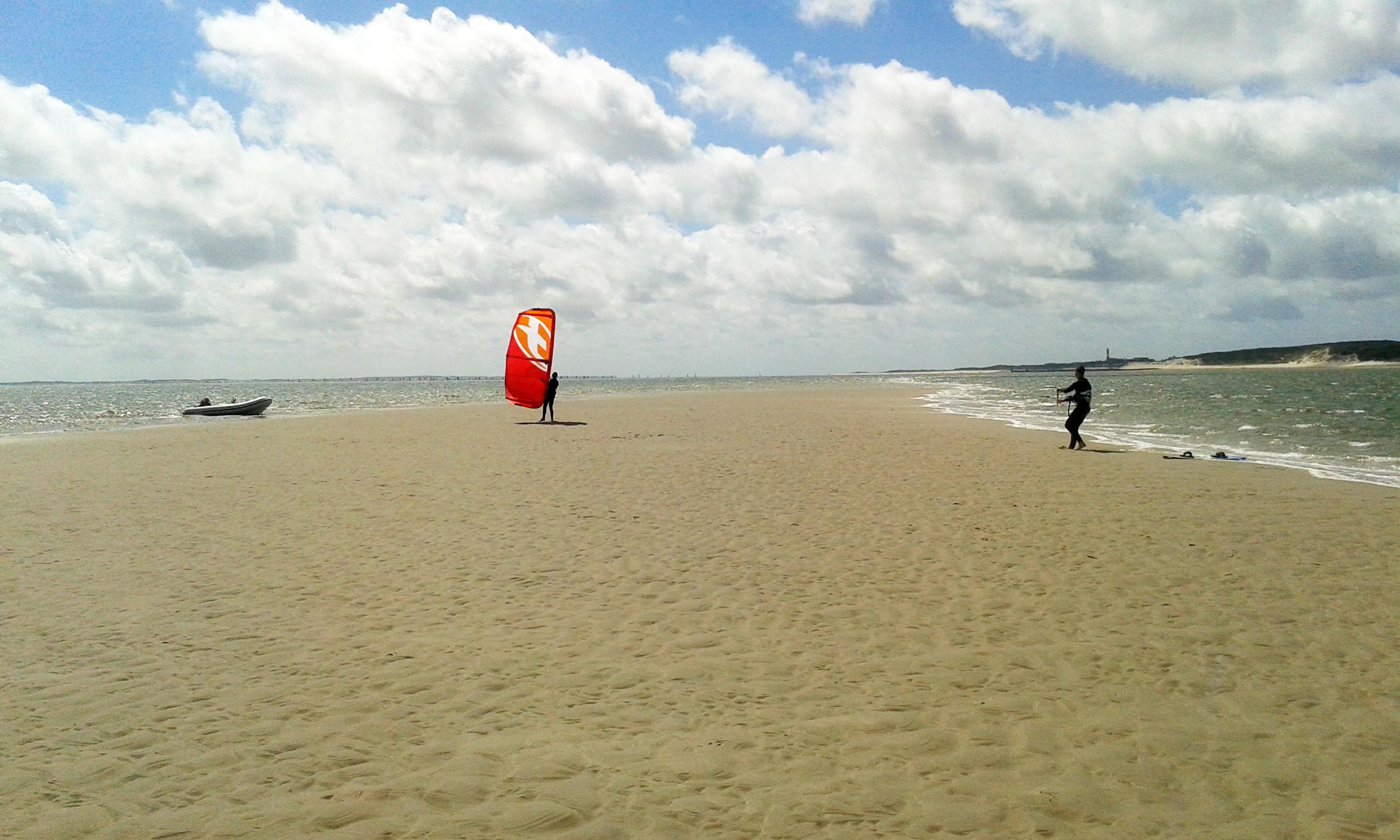 Sylt_Kitesurfschule an der Nordsee Kiten lernen