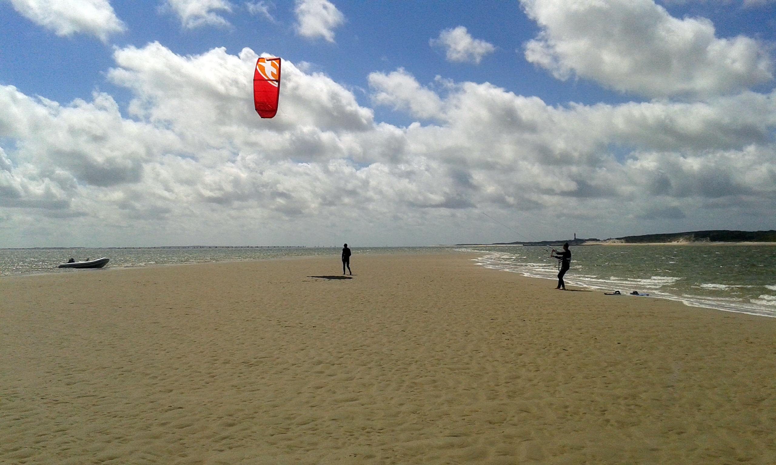 Kitesurfkurs auf der Sandbank vor Sylt | Hoernum Sandbank