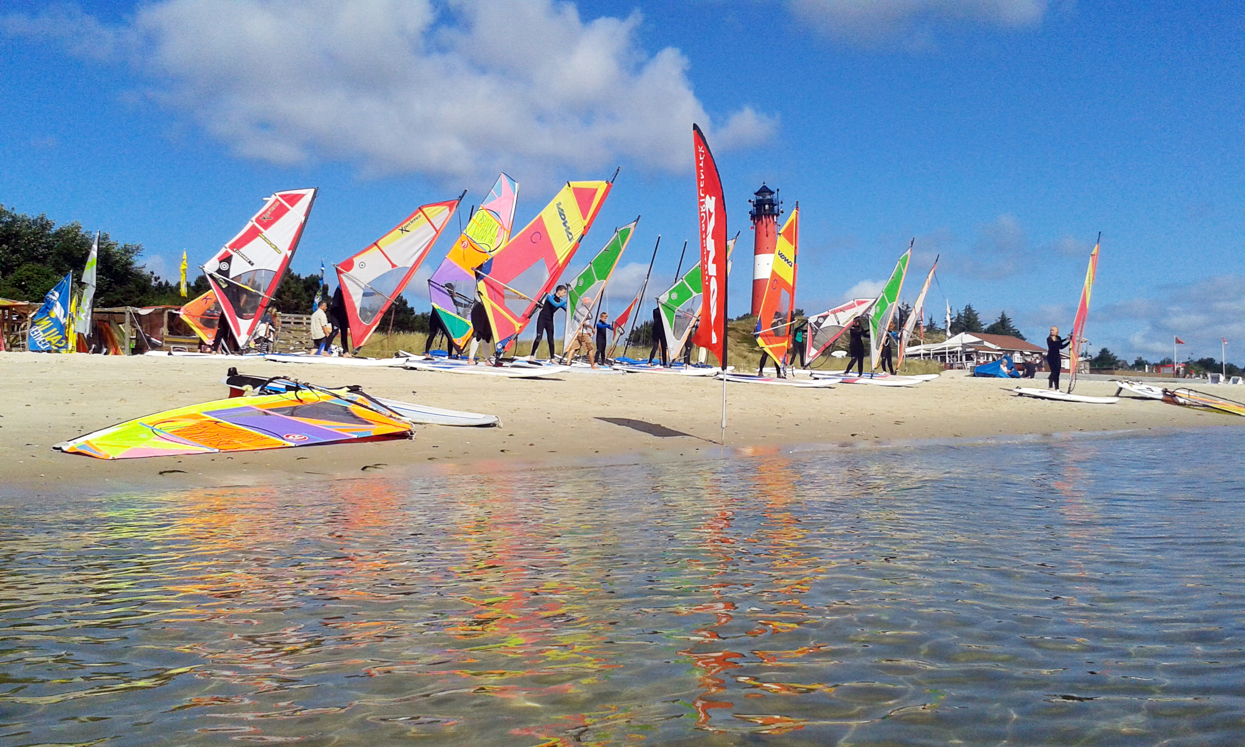 Windsurfkurs in Hörnum