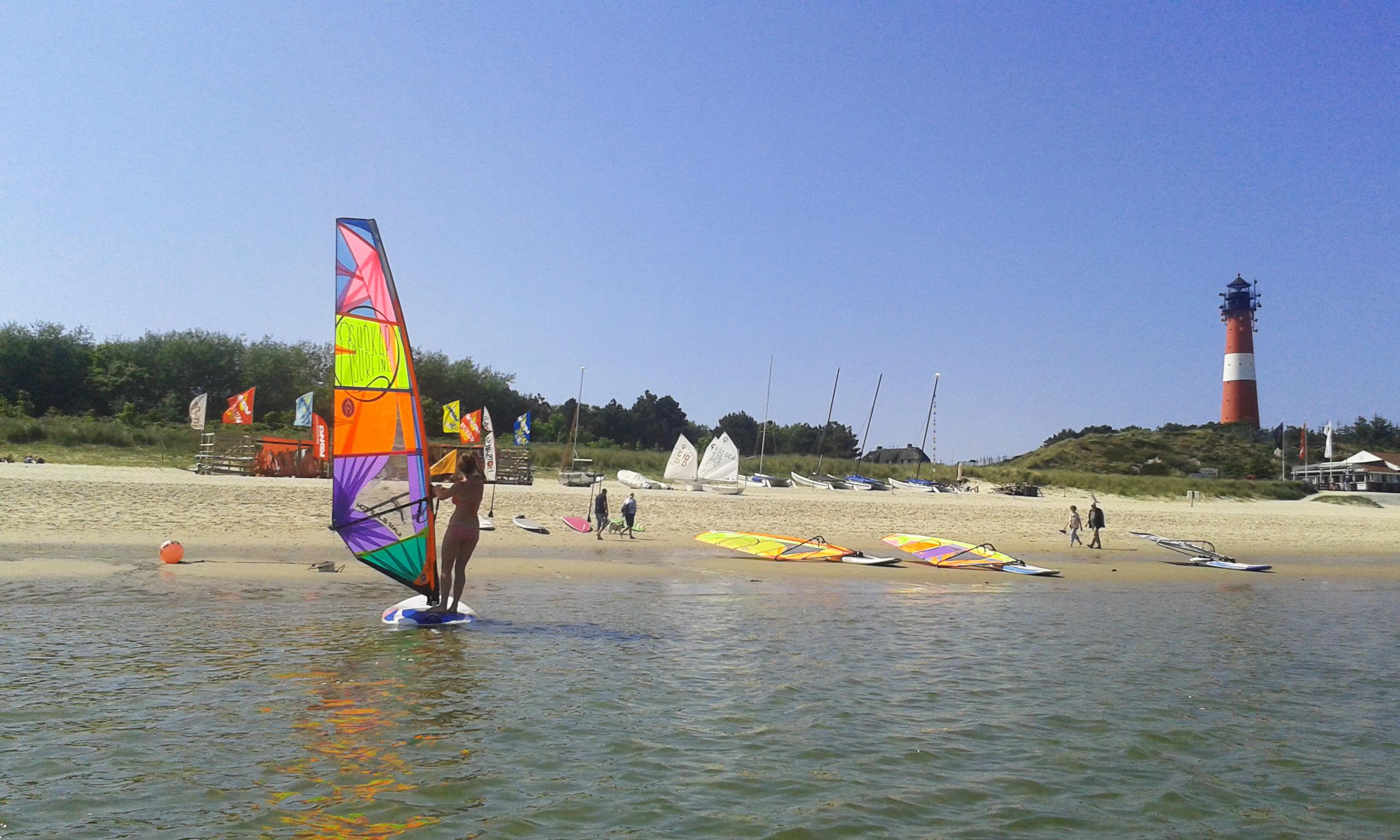 Surfschule am Oststrand