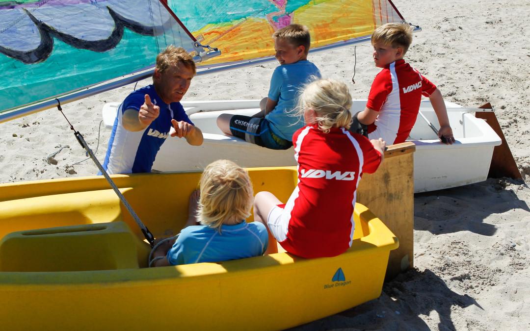 Nordsee Segelschule Sylt | VDWS Segelkurs & Laser Segelverleih