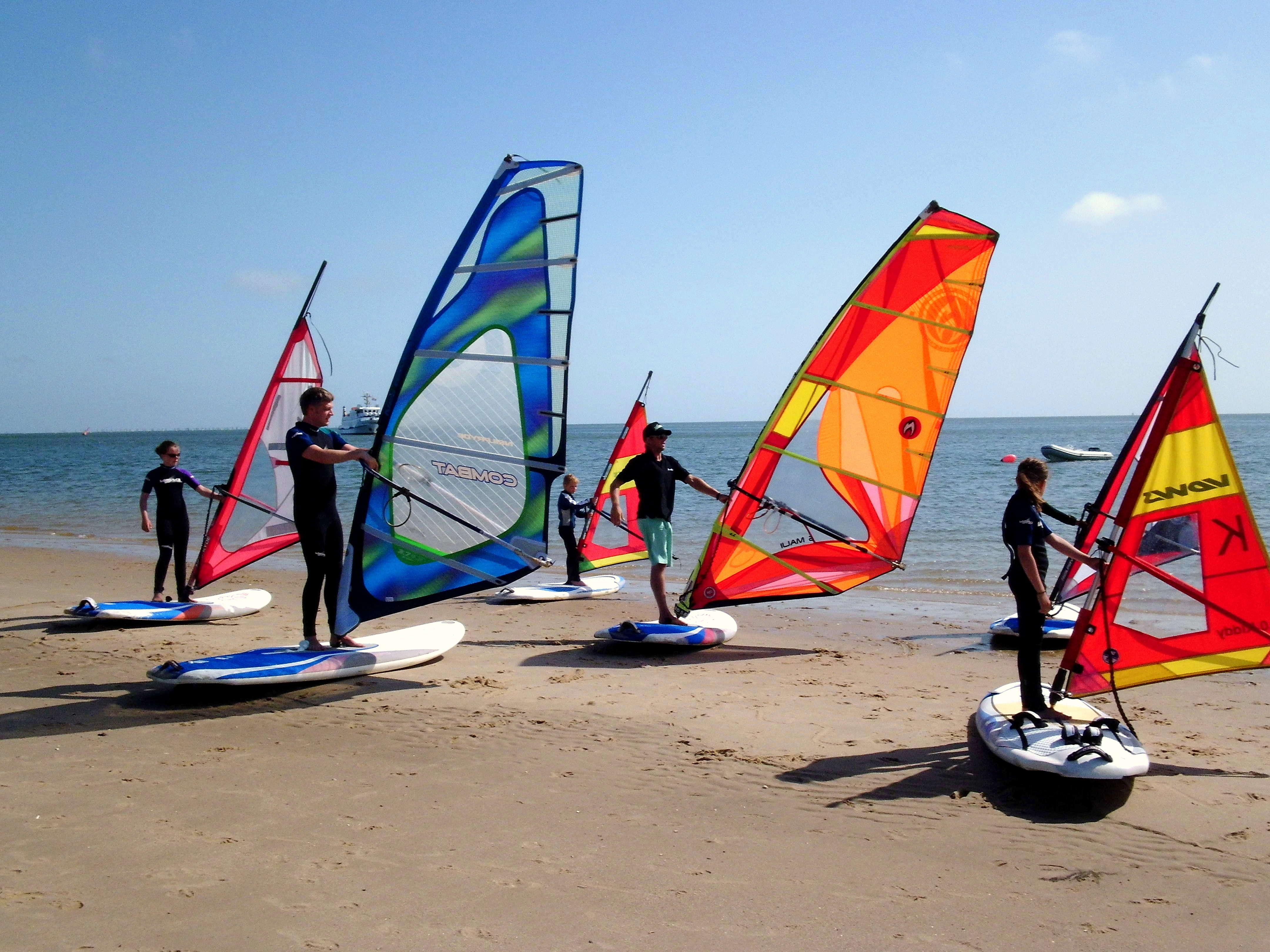 Windsurfen lernen Sylt - Südkap Surfing auf Sylt