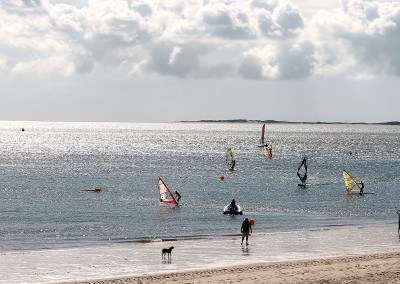 Windsurfen lernen Nordsee Sylt
