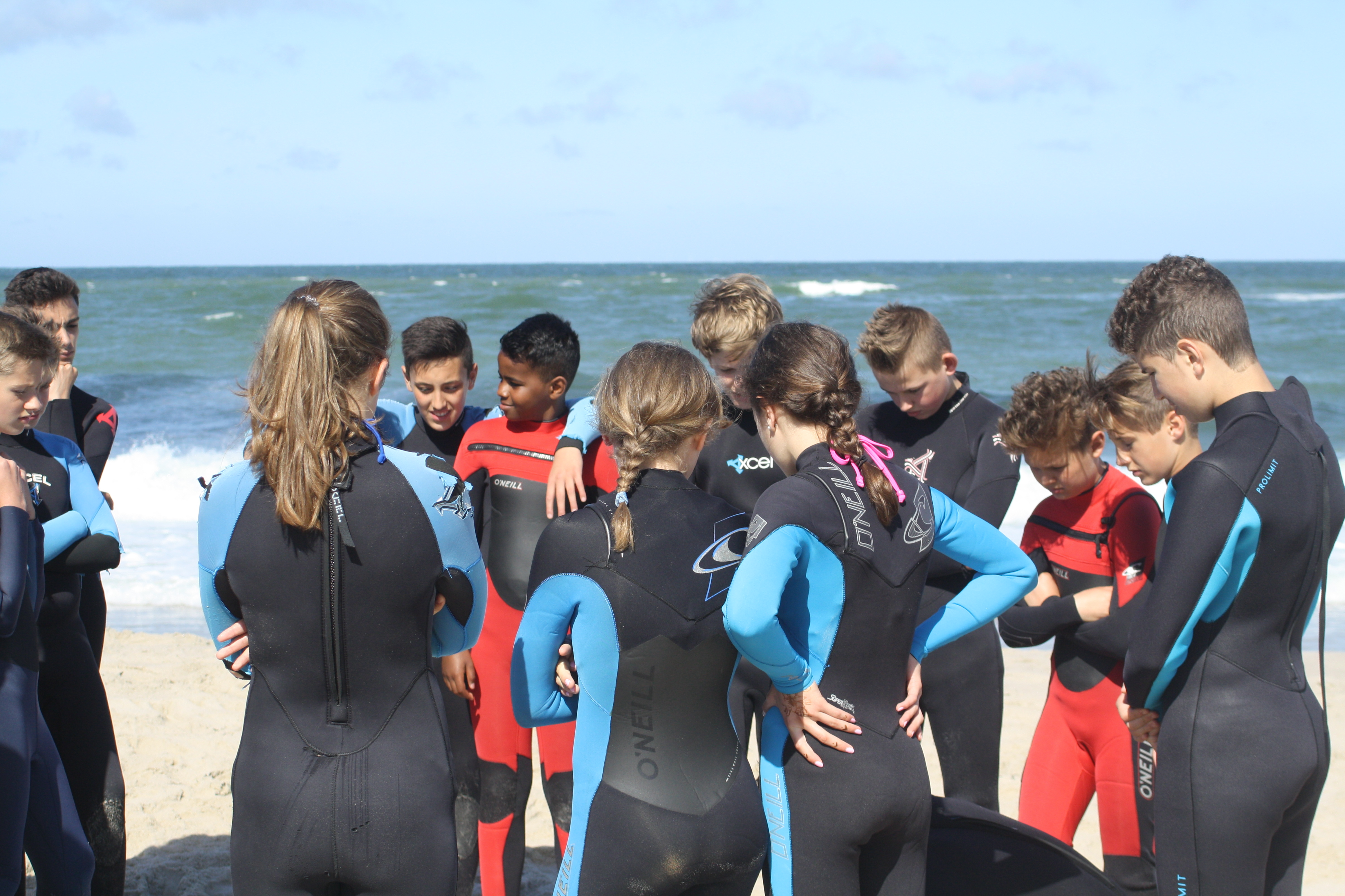 Klassenfahrt an die Nordsee | Surfen lernen im Surfcamp