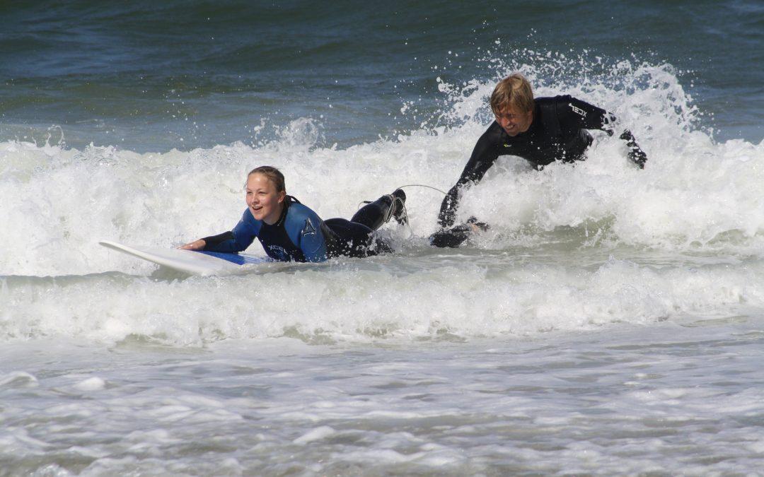 Surfen lernen in Wenningstedt