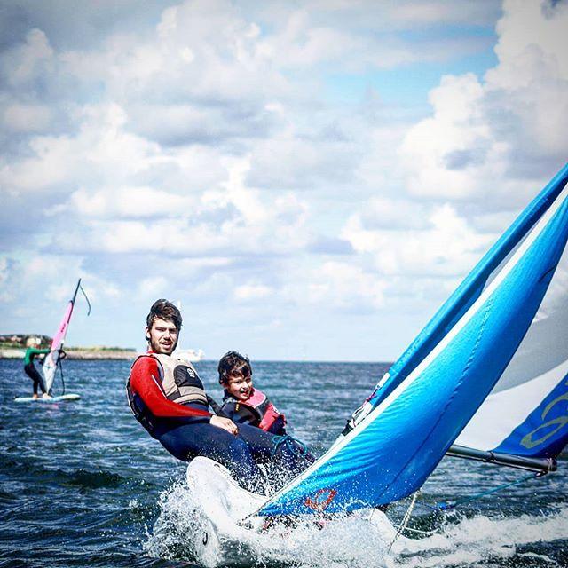 Segeln lernen auf Sylt | Laser Segelschule Nordsee