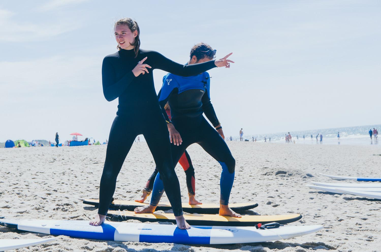 Aufbaukurs Wellenreiten